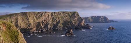 Falaises d'Hermaness, Unst, Shetland