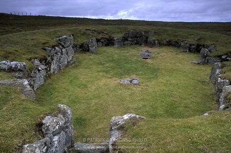 Temple de Stanydale, Shetland