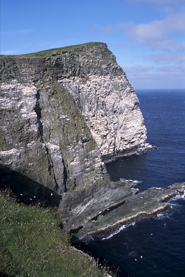 The Noup of Noss, Shetland