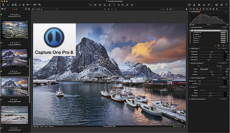 Capture One Pro 8, by Phase One