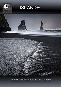 Iceland in winter brochure, photo tour with Patrick Dieudonné