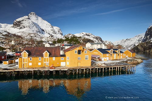 village of Nusfjord, Lofoten, Norway
